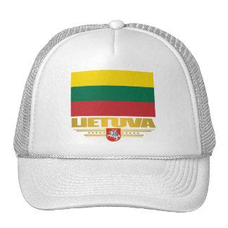 Orgullo lituano gorras de camionero