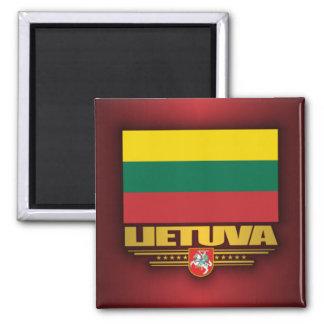 Orgullo lituano imanes
