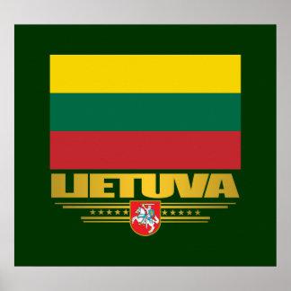 Orgullo lituano impresiones