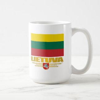 Orgullo lituano tazas