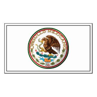 Orgullo Mexicano (Eagle de la bandera mexicana) Plantilla De Tarjeta Personal