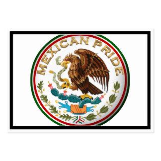 Orgullo mexicano (Eagle de la bandera mexicana) Tarjeta Personal