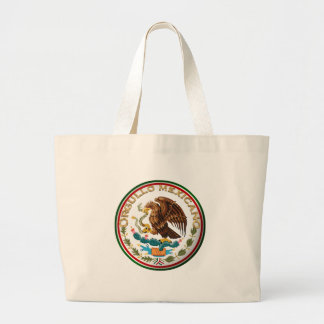 Orgullo Mexicano (Eagle from Mexican Flag) Tote Bags