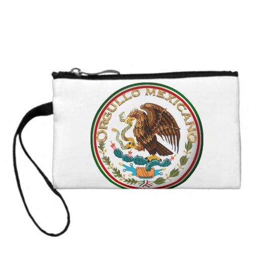Orgullo Mexicano (Eagle from Mexican Flag) Coin Purse