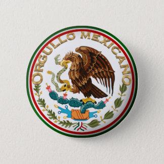 Orgullo Mexicano (Eagle from Mexican Flag) Button