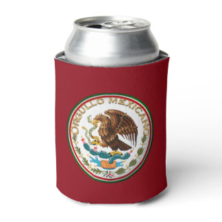 Orgullo Mexicano (Eagle from Mexican Flag) Can Cooler