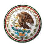 Orgullo Mexicano (Eagle from Mexican Flag) Dartboards