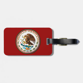 Orgullo Mexicano (Eagle from Mexican Flag) Bag Tag