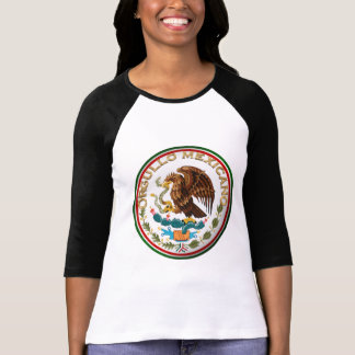 Orgullo Mexicano (Eagle from Mexican Flag) Tee Shirts