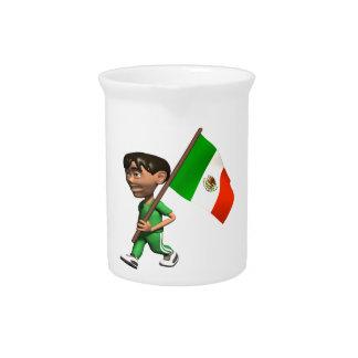 Orgullo mexicano jarron