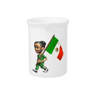 Orgullo mexicano jarras