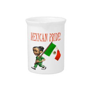 Orgullo mexicano jarra