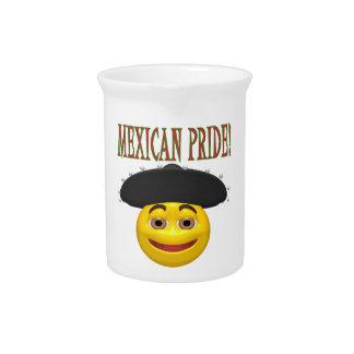 Orgullo mexicano jarra de beber