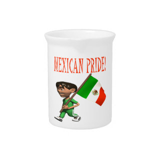 Orgullo mexicano jarras para bebida
