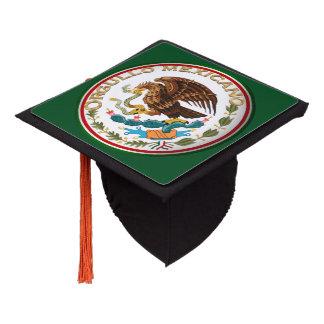 Orgullo Mexicano Mexican Flag Design Graduation Cap Topper