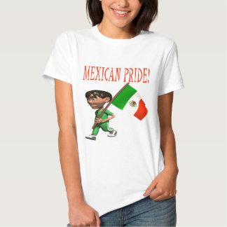 Orgullo mexicano playeras