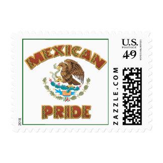 Orgullo mexicano sellos postales