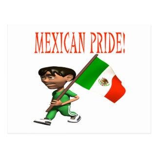 Orgullo mexicano postal