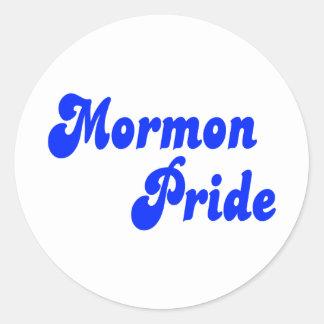 Orgullo mormón pegatinas