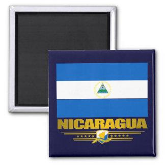 """Orgullo nicaragüense "" Imán Cuadrado"
