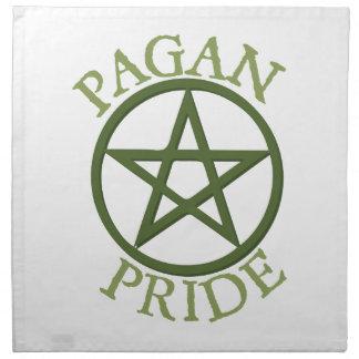 Orgullo pagano servilletas imprimidas