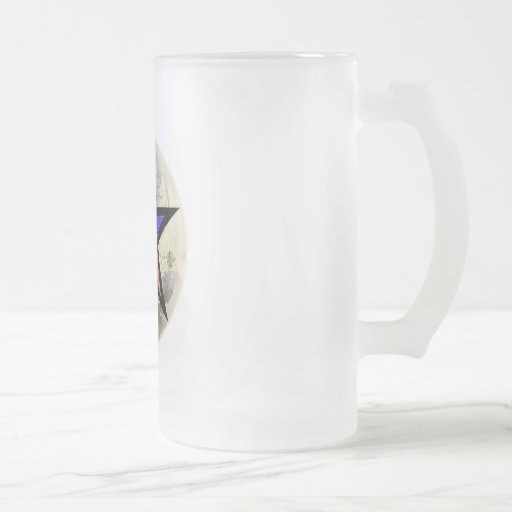 Orgullo pagano taza de cristal