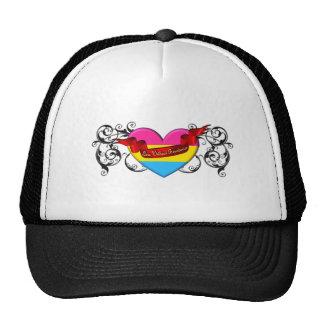 Orgullo Pansexual: Amor sin límites Gorro De Camionero