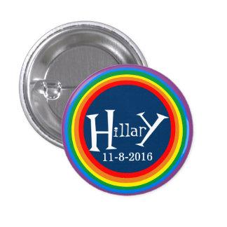 Orgullo para Hillary por HillaryClinton4u Pin Redondo De 1 Pulgada