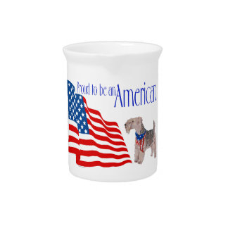 Orgullo patriótico en América Jarra