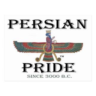 Orgullo persa tarjeta postal