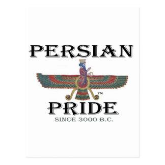 Orgullo persa tarjetas postales