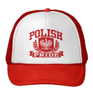 Orgullo polaco gorro de camionero
