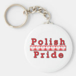Orgullo polaco llavero personalizado
