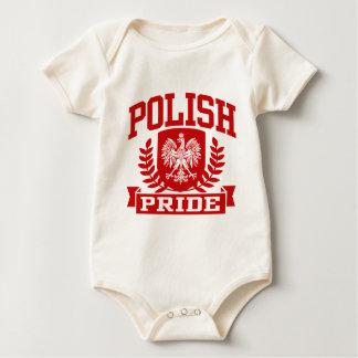 Orgullo polaco trajes de bebé