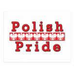 Orgullo polaco postal