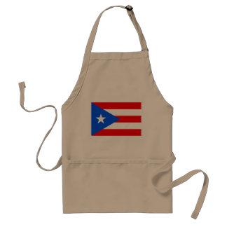 Orgullo puertorriqueño del delantal el   del Bbq d