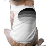 Orgullo recto redondo camisetas de perrito