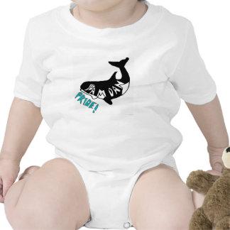 Orgullo samoano, enredadera del niño de la ballena camiseta