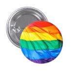 Orgullo sólido - primer de la bandera del arco iri pin