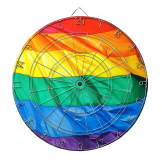 Orgullo sólido - primer de la bandera del orgullo tabla dardos