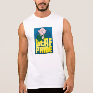 Orgullo sordo. camisa sin mangas