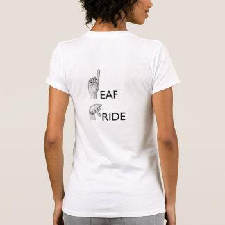 Orgullo sordo camiseta
