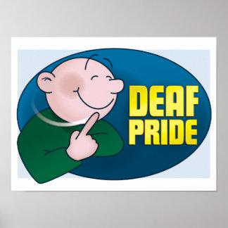 Orgullo sordo. poster póster
