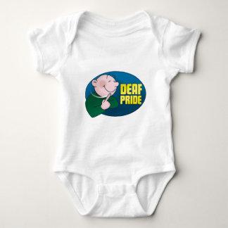 Orgullo sordo. ropa body para bebé