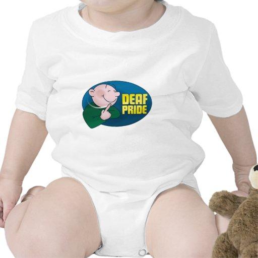 Orgullo sordo. ropa camisetas