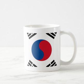 Orgullo surcoreano taza de café
