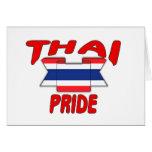 Orgullo tailandés tarjetas