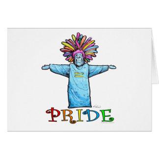Orgullo Tarjeta De Felicitación