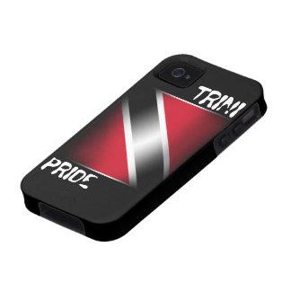 Orgullo Trinidad de Trini y caso de Trinidad y Tob Case-Mate iPhone 4 Carcasa