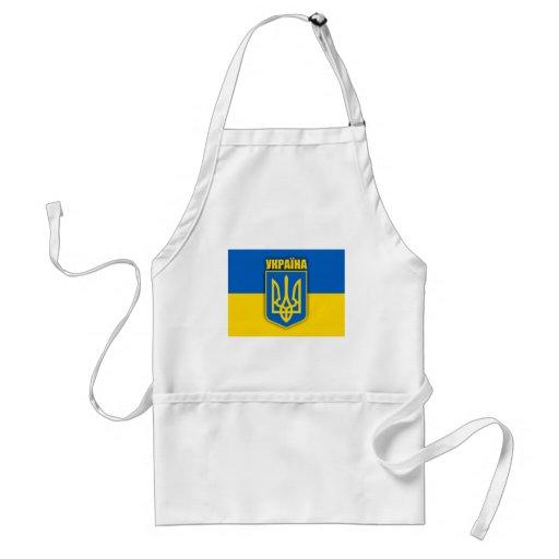 Orgullo ucraniano delantal
